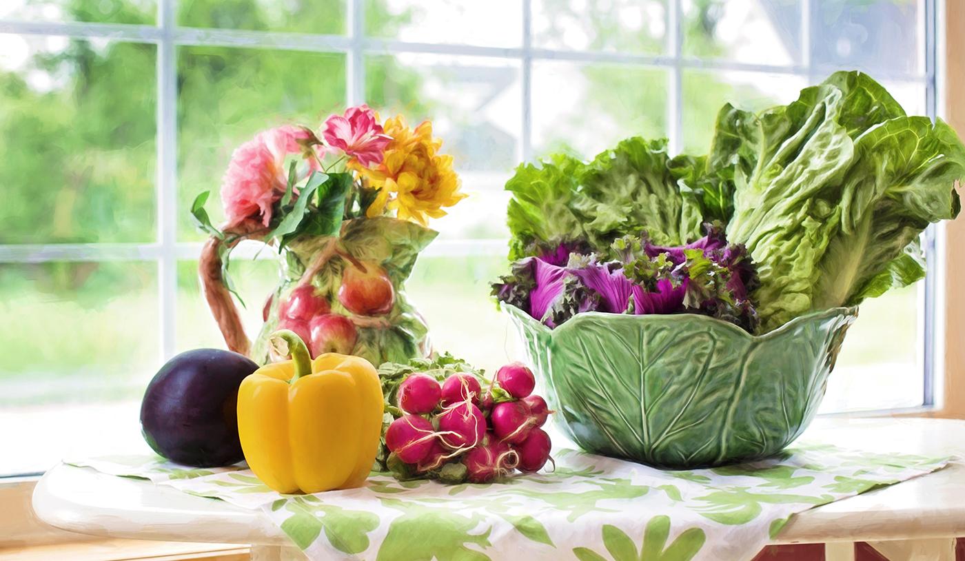 The Fresh Food Always Make your  Mind fresher!!